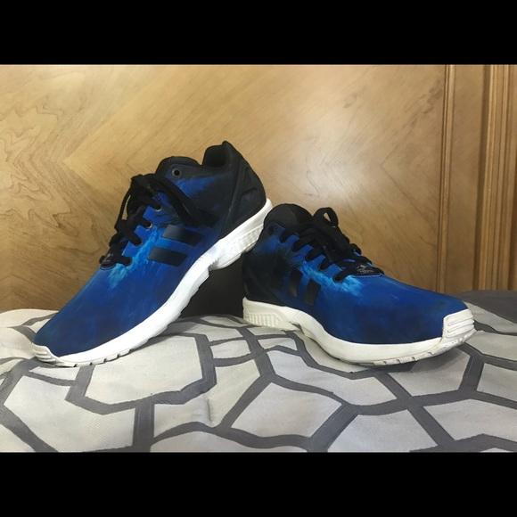 título galope destilación  adidas Shoes | Zx Flux Beach Print Size 115 | Poshmark